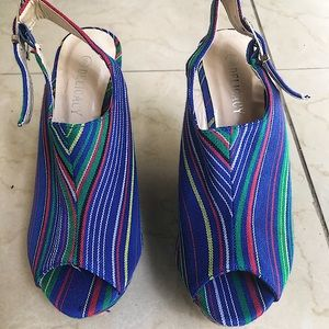 Delicacy Colorful Pattern Wedges